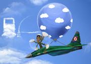 油がなくて訓練できない北朝鮮の空軍