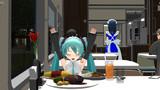 【MMD】食堂車で…【らぶ式モデルFC周年祭2014】