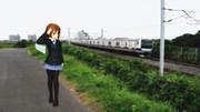 平沢唯に地元を歩いてもらった