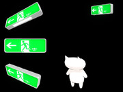 【MMD】EXIT看板