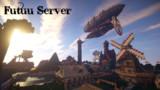 [Minecraft]飛行船と怪しい魚