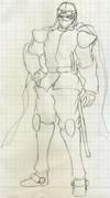 オリジナルヒーロー「戦空士・零」
