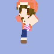 【Minecraft】千石撫子【スキン】