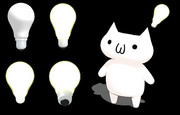 【MMDアクセサリ配布】白熱電球