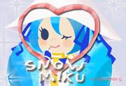 雪ミク (*Snow Miku)