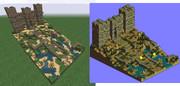 Minecraftでアルモニカ城作ってみた【タクティクスオウガ】