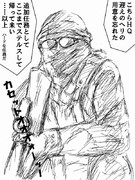 【Unit13】アラバマ 怒りのカセット(落描き)