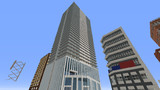 【Minecraft】商業施設つき超高層マンション ほぼ完成