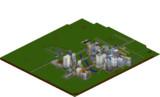 【Minecraft】巨大都市圏開発計画3DMAP2014/05/18