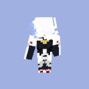 Minecraft スキン BLAZBLUE ハクメン