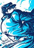水色な承太郎さん。