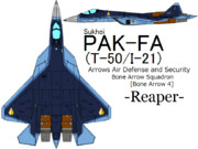 Su-57(PAK-FA) AAD&S Bone Arrow 4 =Reaper=