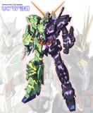 『機動戦士ガンダムUC×仮面ライダーW』のコラボネタを考えた。