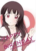 ゆるゆり 松本りせ会長誕生日おめでとう!