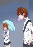 雨の日・再