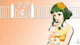 【HD背景】GUMI と 花(1月用)
