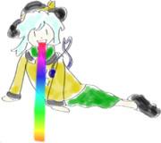 Nsen02次曲キャラ雑絵描き宣言。『リバースこいしちゃん』