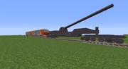 【Minecraft】DF200&列車砲【RTM】