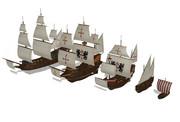 帆船セット