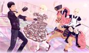 アニとベルトルトでダンス!