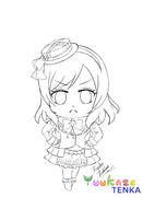 デフォルメ真姫ちゃん