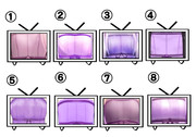 各社薄型テレビちゃん比較