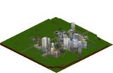 【Minecraft】巨大都市圏開発計画3Dマップ2014/05/27