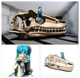 MMD 恐竜頭蓋骨アクセサリ 配布
