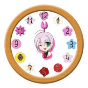 (V)・∀・(V)<花時計