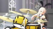 ドラムと島風と連装砲ちゃん