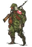 大日本帝国軍兵士