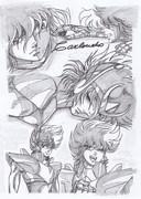 天馬 星座 (ペガサス)の 星矢  「聖闘士星矢」