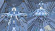 【minecraft】氷の城  内装編【アナと雪の女王】