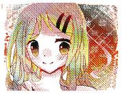 うごメモで12歳が女の子を描いてみた