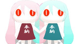【MMDモデル配布】おみこしアイマイナちゃん追加【ドンドコドコドコ・・・】