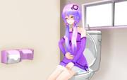 【第1回MMDトイレ選手権】   頑張れゆかりん