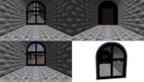 Cement Window Room