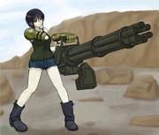 重火器的女子