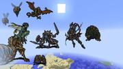 【Minecraft】 地球防衛軍4支援絵的な何か 【マインクラフト】
