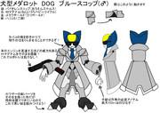 犬型メダロット DOG04 ブルースコップ(仮称)