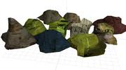 岩セット01