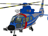AS-365ドーファン2 警察風