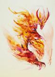 紫炎のドラゴン