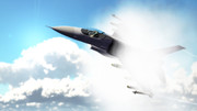 【MMD空軍】 F-16 ベイパーコーン