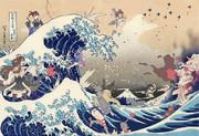 【艦これ】富嶽三十六景神奈川沖浪裏大海戦