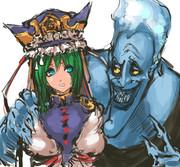 閻魔様と冥王様