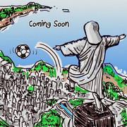 もうすぐワールドカップ始まるよ!