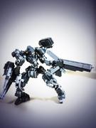 レゴでアーマードコアっぽいロボ
