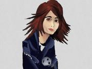 3DSで「ケンジャキ(0w0)」描いてみた