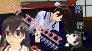 【MMD艦これ】赤城さんに下縁眼鏡を掛けさせてみるテスト【櫻(と錨)trick製作中】